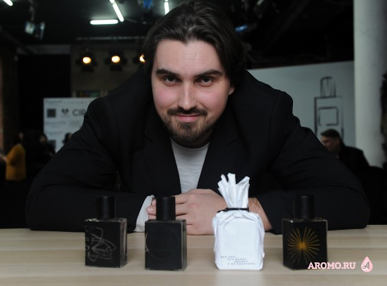 Дмитрий Ахапкин – creator UNVISUAL parfums