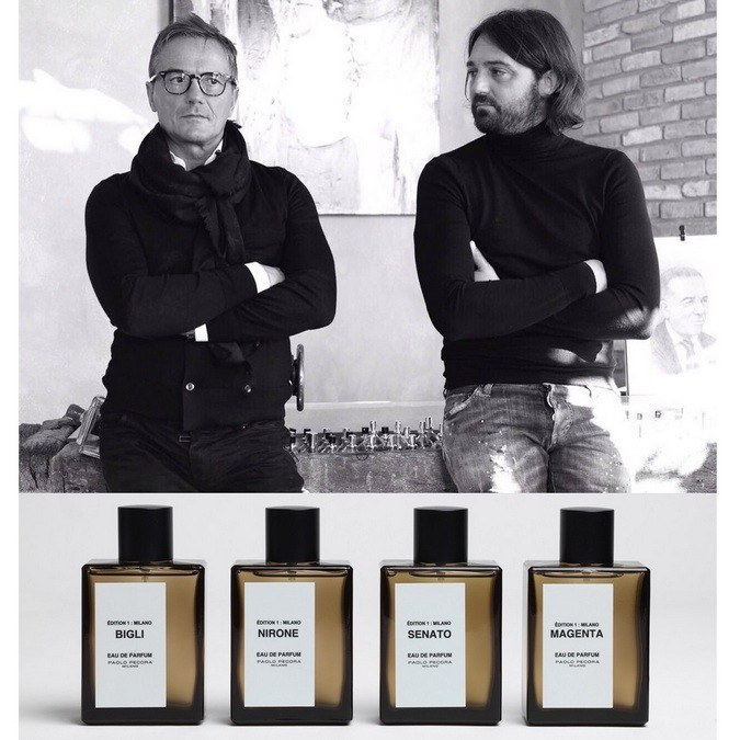 Paolo Pecora and Mirko Buffini with perfumes Edition 1_Milano.JPG