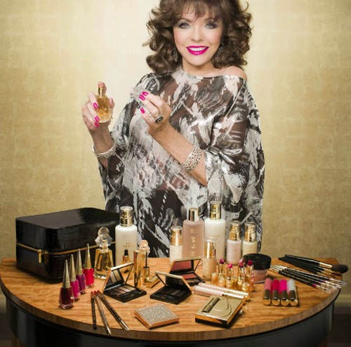 3_Joan Collins_with her collection.jpg