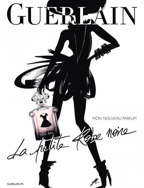 Parfum petite robe noir de guerlain