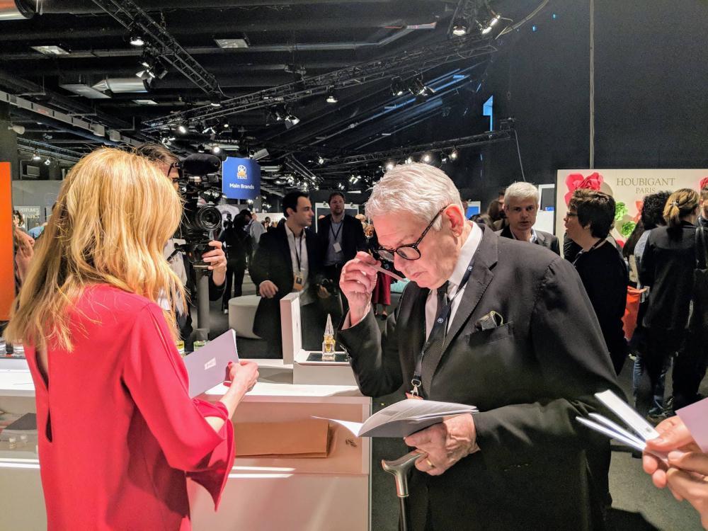 Легендарный парфюмерный эксперт Майкл Эдвардс знакомится с ароматом L'Iris de Fath